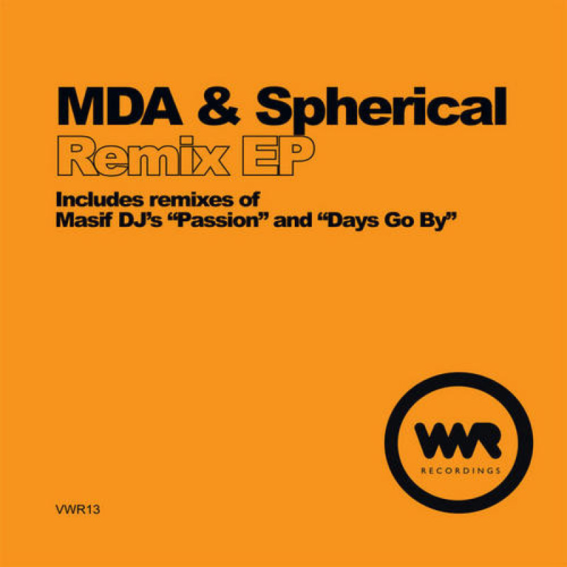 MDA & Spherical - Remix EP